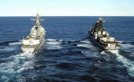 Поздравление с Днём моряка надводного флота
